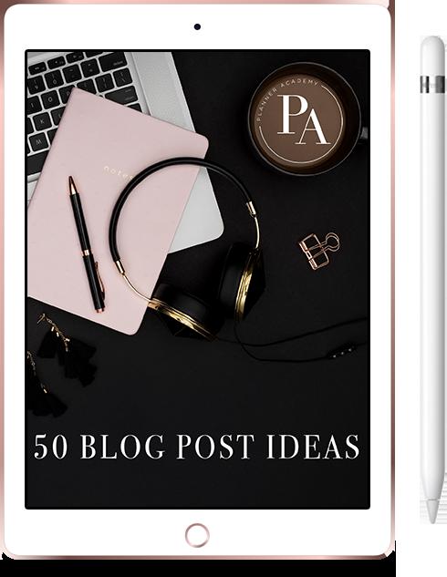 bonus 02 50 blog post ideas