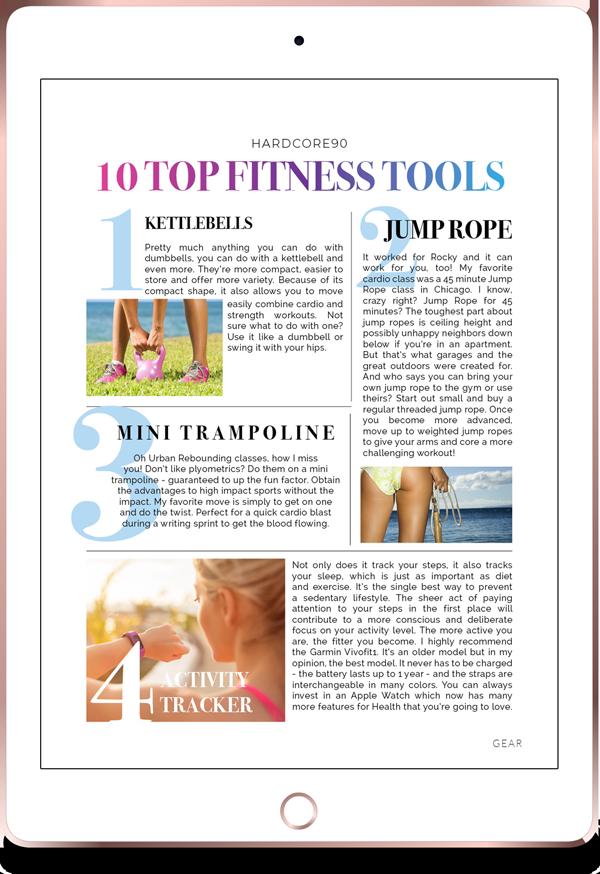 Bonus 03 iPad Top 10 Fitness Tools