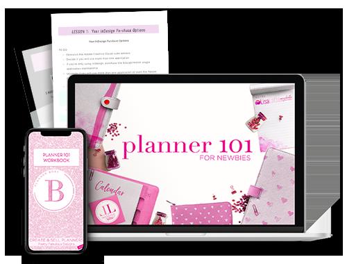 15 Planner 101 Freebie Mockup