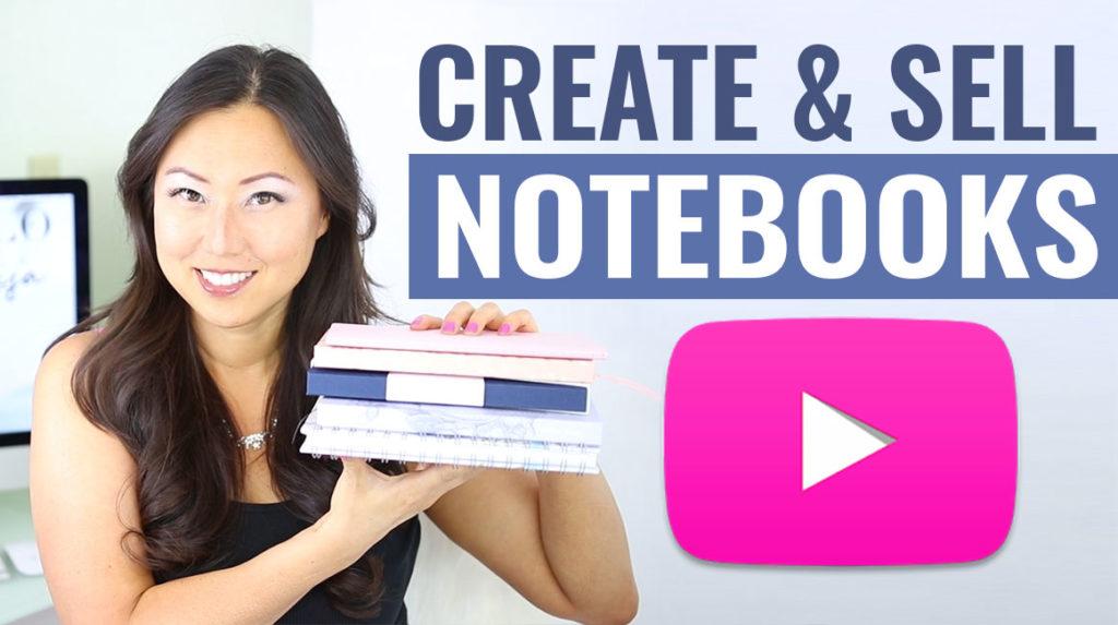 Notebook video mockup