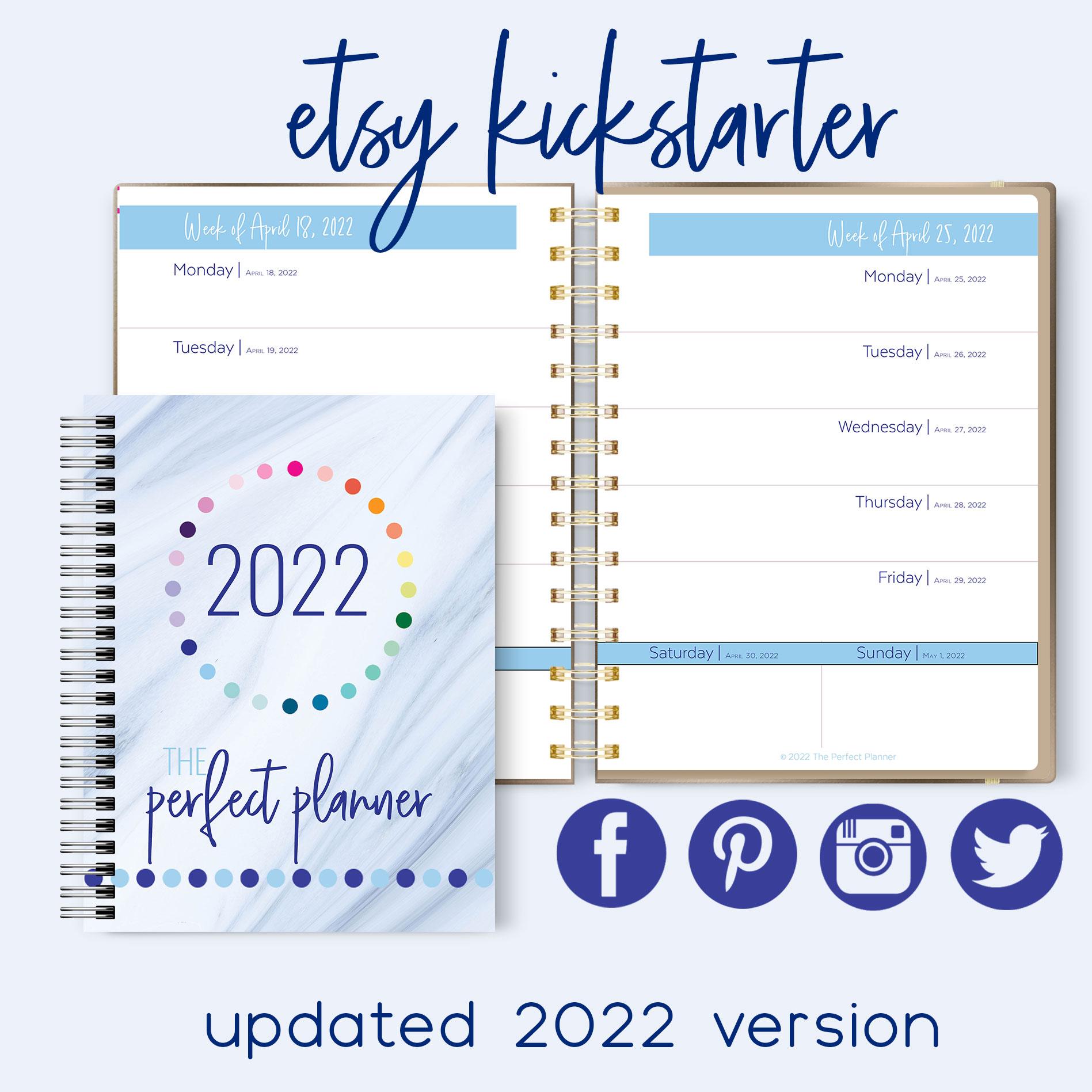 18 Planner Template Mockups for Website copy